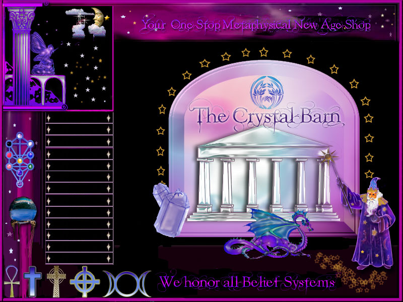 The Crystal Barn - Your One Stop Metaphysical New Age Shop