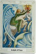 Click to see larger view of Knight of Cups