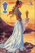 Click to see larger view of Queen of Cups