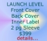 Details for Launch Level CD Design Package