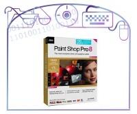 JASC's Paint Shop Pro v 8