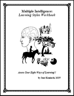Multiple Intelligences Learning Styles Manual
