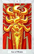 Click to see larger view of Ace of Wands